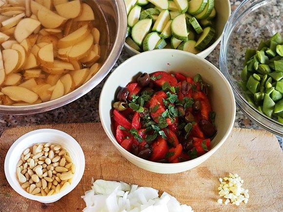 Cartocci piccanti di taccole e patate novelle alla menta 2