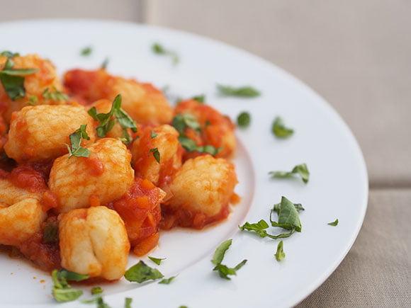 Gnocchi di patate al ragù vegetale 4