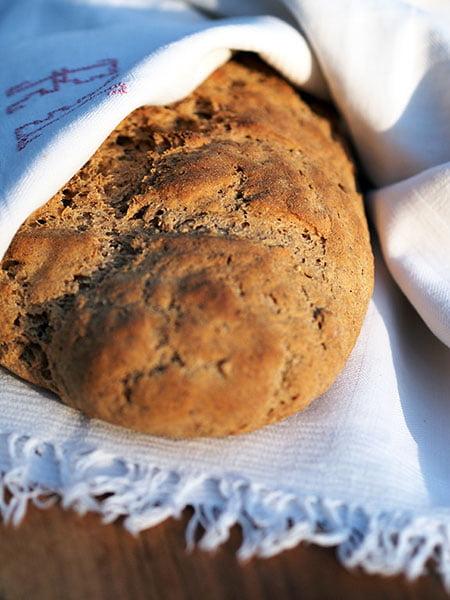 Pane di segale e grano del faraone 4