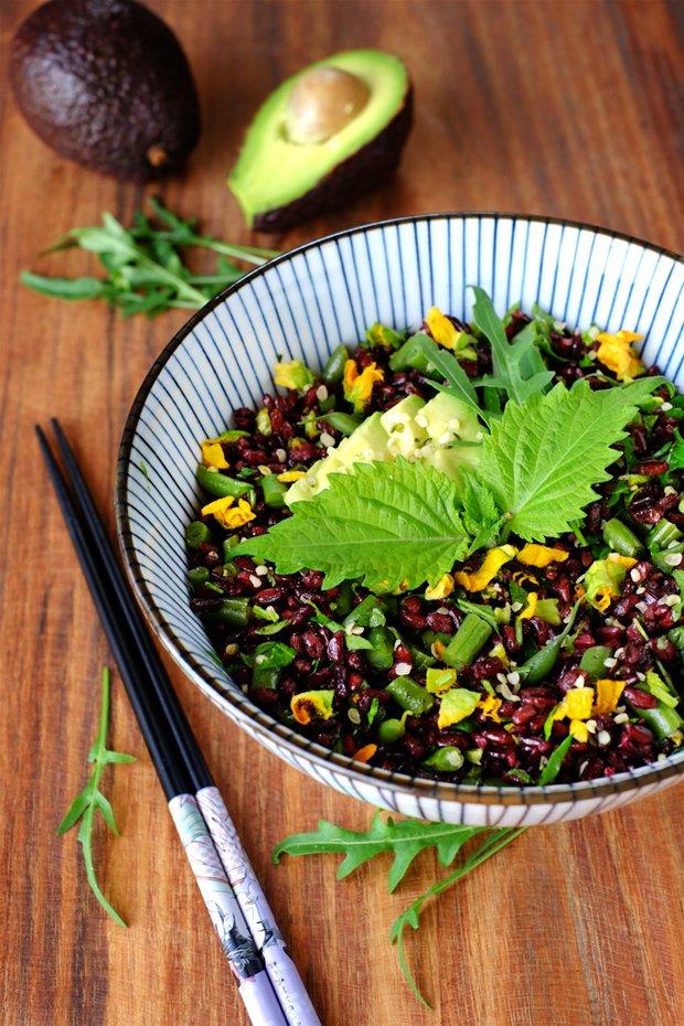 Insalata di riso nerone in verde 1