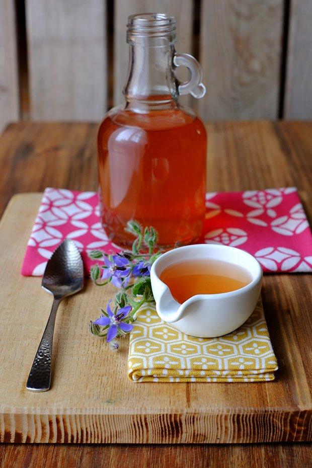 Aceto aromatizzato alla borragine e finocchietto selvatico 34