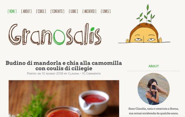 Il nuovo granosalis è online!! (e una crostatina con crema di mandorle e mirtilli freschi) 2