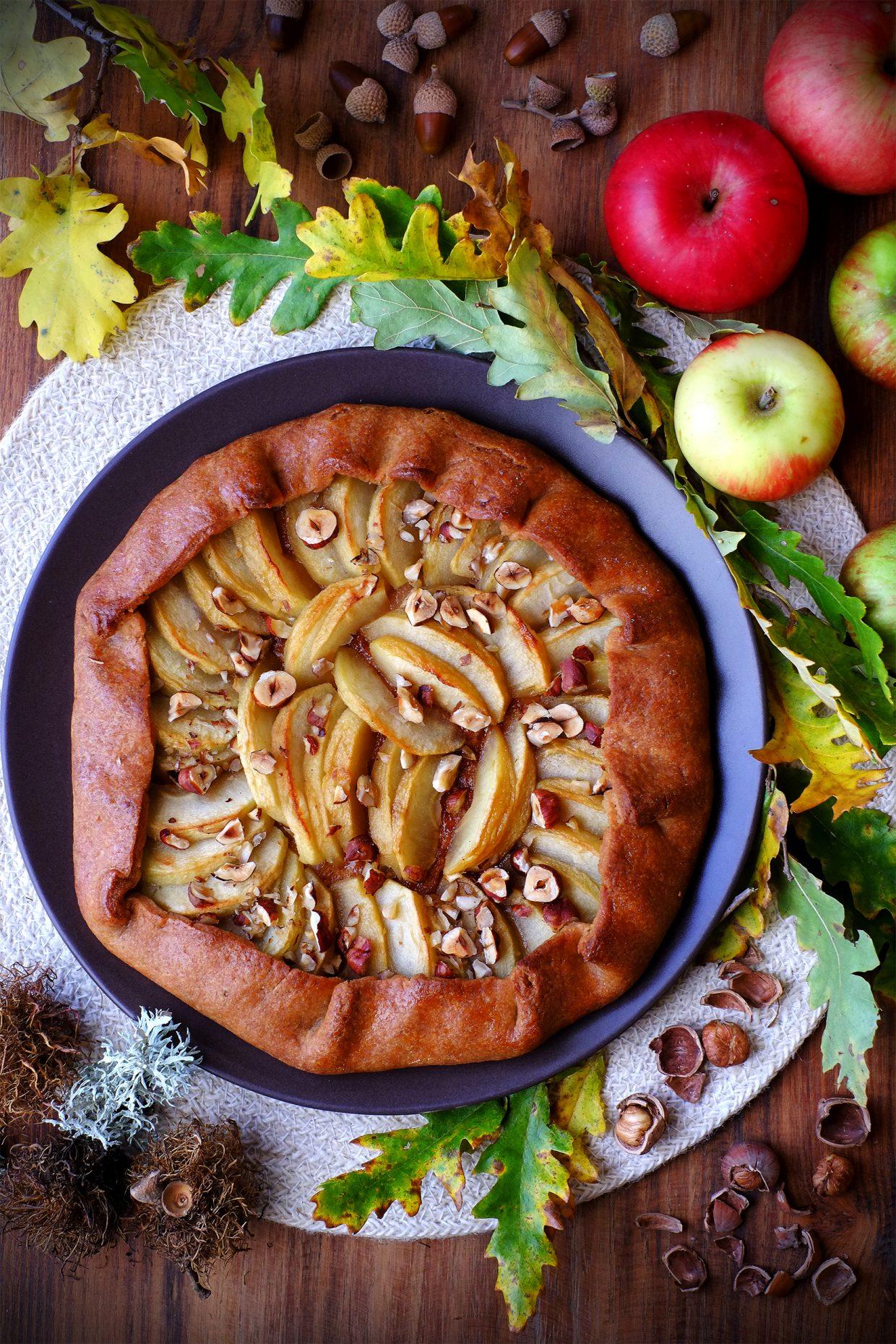 galette di mele